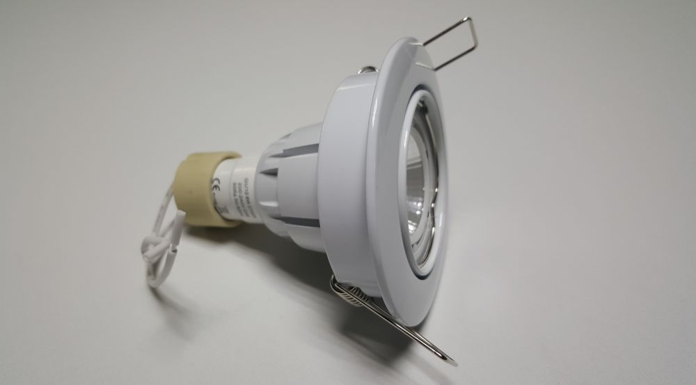 Dimbare led inbouwspot wit gu cri warm wit w ecobright