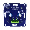 Duo led dimmer inbouw 2x 0-100W, fase afsnijding