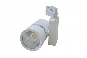 Led railspot 30 Watt 3000K/warm wit 3-fase