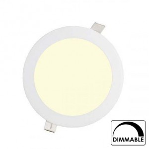 Led downlight inbouw 170mm 3000K (12W) dimbaar