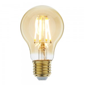 Led filament E27 bulb flame 3.5W dimbaar (A60)