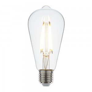 Led filament E27 rustika warm wit 3.5W dimbaar (ST64)