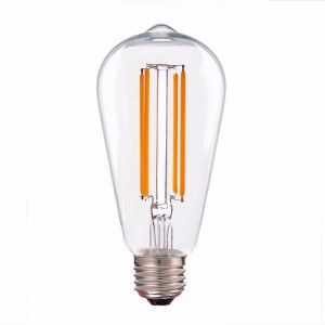 Led filament E27 rustika warm wit/2700K 3.5W dimbaar (ST64) - SALE