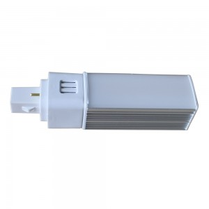 Led PL G24 9 Watt warm wit 2P