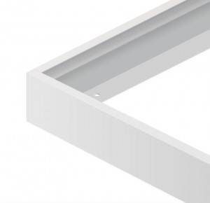 Opbouwframe 120x30 led paneel wit