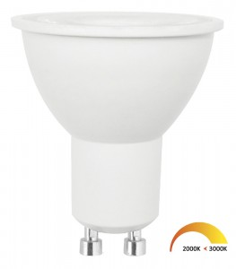 Dimbare led spot GU10 dim to warm Basic