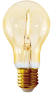 Led filament E27 bulb flame 1W (A60)