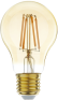 Led filament E27 bulb flame 7W dimbaar (A60)